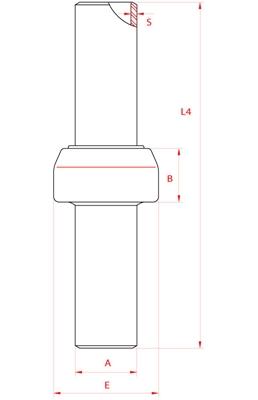 Meccanica Segrino - Giunto isolante estremità a saldare PN 10 per gas e acqua / Isolation joint welding/welding PN10 for gas/water