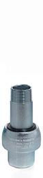 Meccanica Segrino - Giunto isolante maschio/femmina zincato PN 10 per gas e acqua
